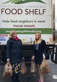 Christal Fleishman and Katy DelGreco Thanksgiving Food Donation December 2017-1.jpg